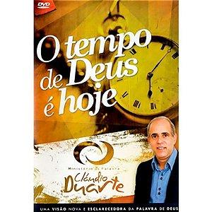 DVD O TEMPO DE DEUS E HOJE