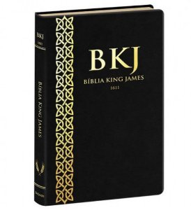 Bíblia King James 1611 Ultra Fina | Preta