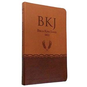 Bíblia King James 1611 Ultra Fina | Marrom