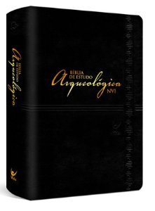 Bíblia de Estudo Arqueológica NVI |Luxo Preta|