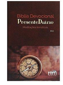 Bíblia Devocional Presente Diário| Capa Bússola|