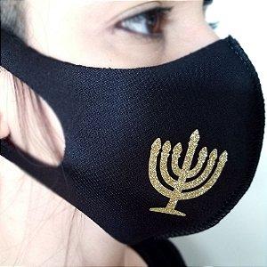 Máscara de proteção Higiênica reutilizável |Judaico Brilho|