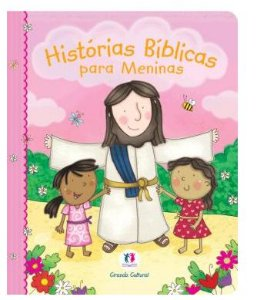 Bíblia Infantil História Bíblia para Meninas |Rosa|