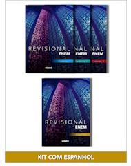 Material Revisional ENEM - Kit  com Espanhol