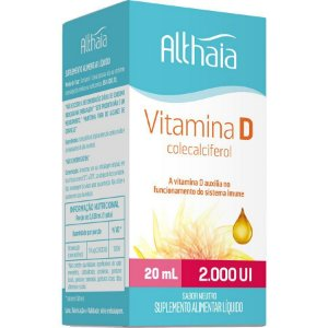 Vitamina D Althaia 2.000UI com 20mL