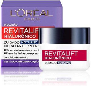 Creme Antirrugas Facial Noturno L'oréal Revitalift Noturno 49g