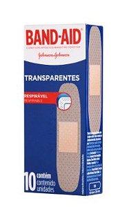 Curativo Band-Aid Transparente 10 Unidades