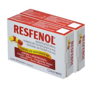 Leve Mais Por Menos - (Kit 2 Unidades) - Resfenol 20 Cápsulas
