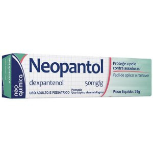 Neopantol 50mg/g Pomada 30g Neo Química