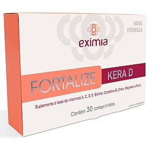 Exímia Fortalize Kera D 30 Comprimidos