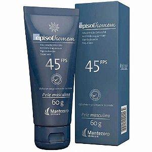Protetor Solar Facial Episol Homem FPS45 60g