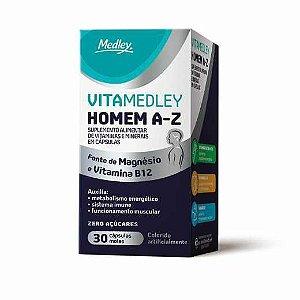Vitamedley A-Z Homem 30 Cápsulas