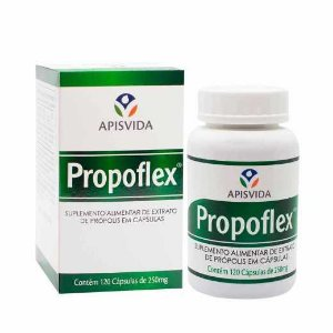Extrato De Própolis 250mg Propoflex com 120 Capsulas Apis Vida