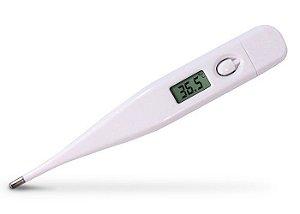 Termômetro Incoterm Digital Branco Sonoro