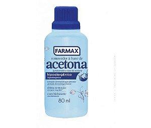 Acetona Farmax 80mL
