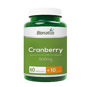 Cranberry 500mg com 70 Cápsulas Bionatus