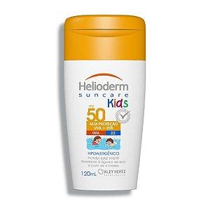 Protetor Solar Helioderm Suncare Kids Fps50 com 120ml