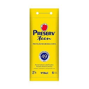 Preservativo Preserv Teen com 6 Unidades