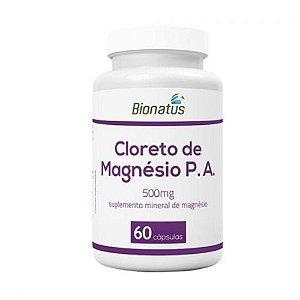 Cloreto de Magnésio P.A. com 60 Cápsulas