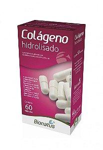Colágeno Hidrolisado com 60 Cápsulas Bionatus