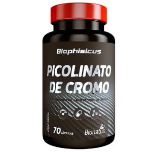 Picolinato de Cromo com 70 Cápsulas Bionatus