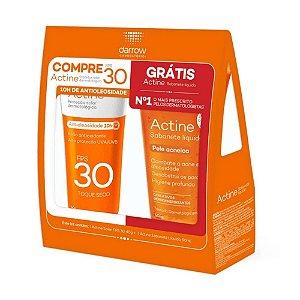 Actine Protetor Solar FPS30 Color 40g + Sabonete Liquido 60ml