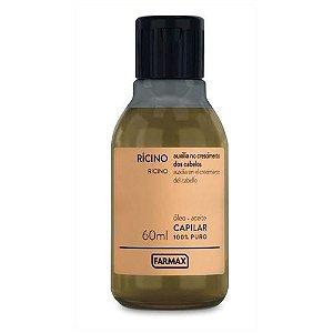 Óleo de Rícino Capilar Farmax 60ml