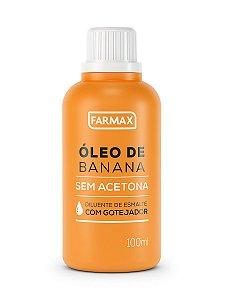 Óleo de Banana Farmax 60ml