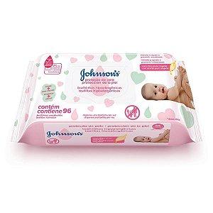 Lenços Umedecidos Johnson's Baby Extra Cuidado 96 Unidades