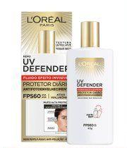 Protetor Solar Facial L'oréal Fluido UV Defender FPS60 com 40g