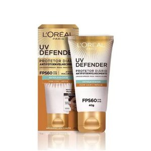 Protetor Solar L'Oréal UV Defender Média FPS60 40g
