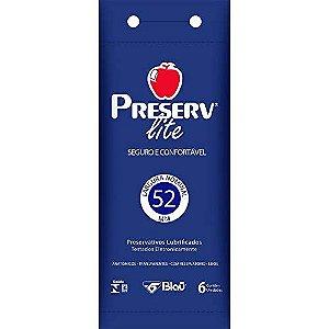 Preservativo Preserv Lite com 6 Unidades