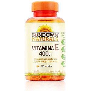 Vitamina E 400UI 180 Cápsulas Sundown