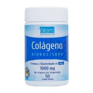 Colágeno Hidrolisado 1000mg Stem 50 Comprimidos