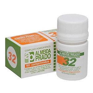 Complexo Homeopático 60 Comprimidos N. 32 Almeida Prado