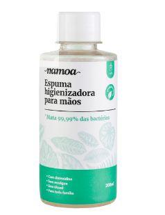 Refil de Espuma Higienizadora para Mãos Namoa 200mL