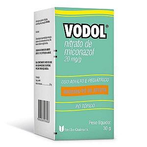 Vodol Nitrato de Miconazol 20mg/g  30g  Pó Tópico União Química