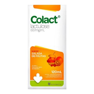 Colact Lactulose 120mL Salada de Frutas União Química