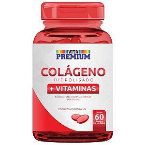 Colágeno Hidrolisado Vita Premium 60 Comprimidos