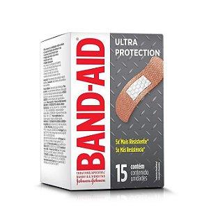 Curativos Ultra Protection Band Aid 15 Unidades
