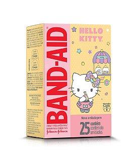 Curativo Band - Aid Hello Kitty 25 Unidades