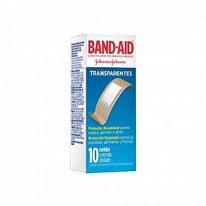 Curativos Transparentes Band- Aid 10 Unidades