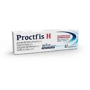 Proctfis H Pomada 20g 10 Aplicadores União Química
