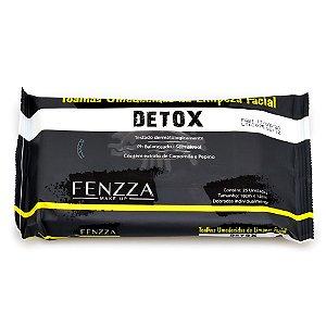Toalhas Umedecidas De Limpeza Facial Detox Fenzza Make Up