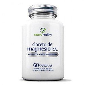 Cloreto de Magnésio P.A 60 Cápsulas Nature Healthy