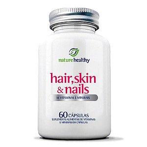 Hair, Skin & Nails 60 Cápsulas Nature Healthy