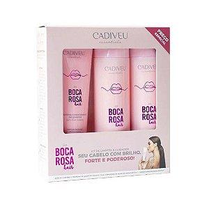 Kit Cadiveu Boca Rosa Hair Limpeza e Cuidados