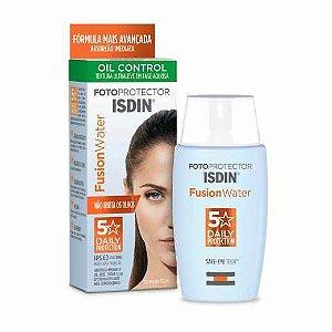 Protetor Solar Facial Isdin Fusion Water Oil Control FPS60 com 50ml