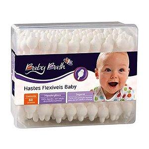 Hastes Flexíveis c/ 60 unidades - Baby Bath