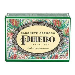 Sabonete Phebo Cedro Do Marrocos 100g